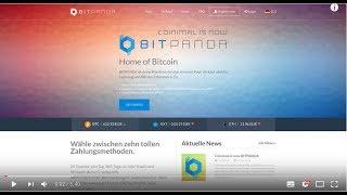 Bitcoin kaufen mit BitPanda