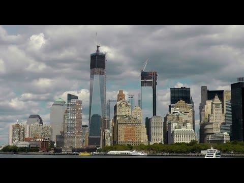 Times Square, Manhattan, Hudson River, New York