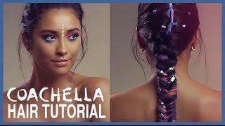 Unicorn Inspired Coachella Hair Tutorial | Shay Mitchell