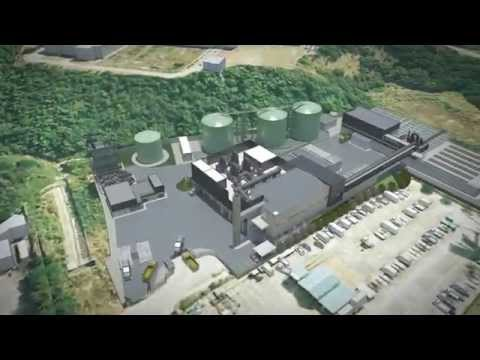 Organic waste treatment center (Hong Kong, China) - SUEZ