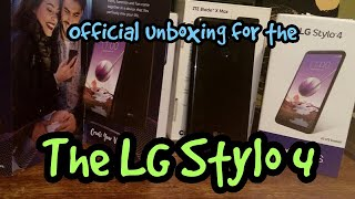 The LG Stylo 4 Unboxing Review