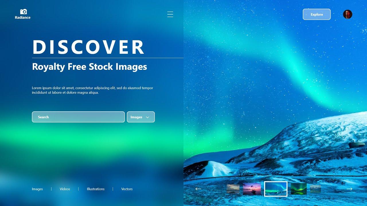 How To Make Website UI Design In Adobe XD | UI Design Tutorial