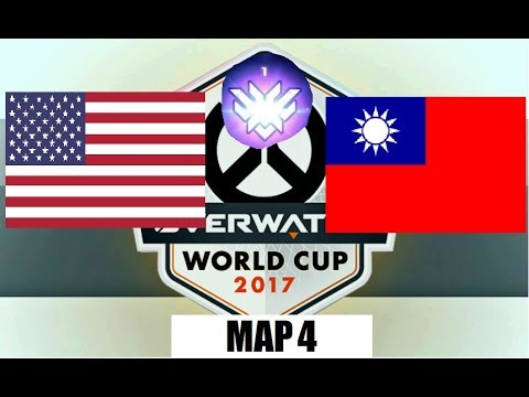 Breakdown and Analysis | USA vs Chinese Taipei | Overwatch World Cup Qualifiers | Map 4 Route 66