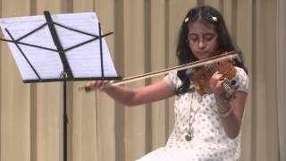 Saare Jahan se Achcha Hindustan Hamara played on violin by Nehal Sharma
