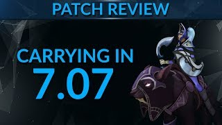 Carry in 7.07: NEW META Heroes? | Dota 2 Guide