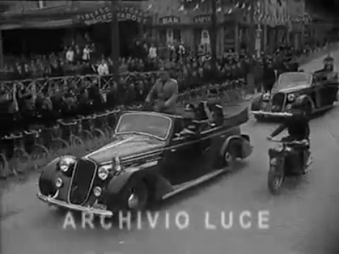 Visita di Mussolini a Padova
