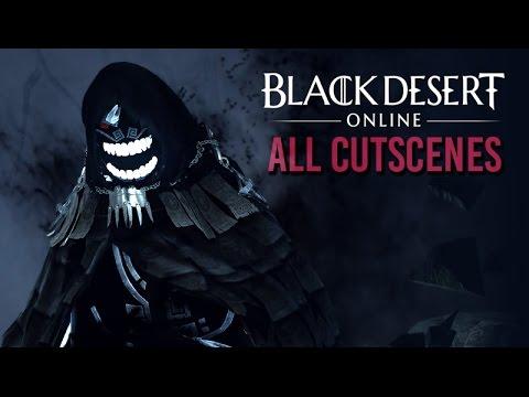 Black Desert Online ★ All Cinematic Cutscenes (English / 1080p HD)