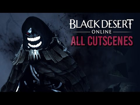 Black Desert Online ★ All Cinematic Cutscenes 【English / 1080p HD】