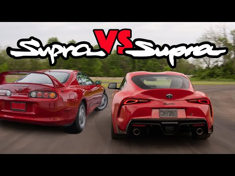 MKIV Supra vs MKV Supra Review - Is The A90 A True Toyota Supra Successor?