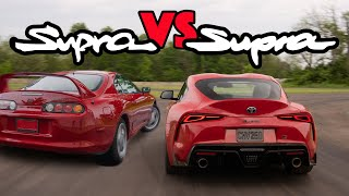 1993 Supra vs 2020 Supra Review - Is The A90 A True Toyota Supra Successor?