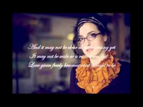 Audrey Assad - Ought To Be (Lyric Slideshow) - Music Video