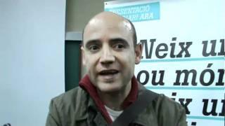 Presentació del nou diari ARA, a Berga (3) David MIró, cap de redacció politica d