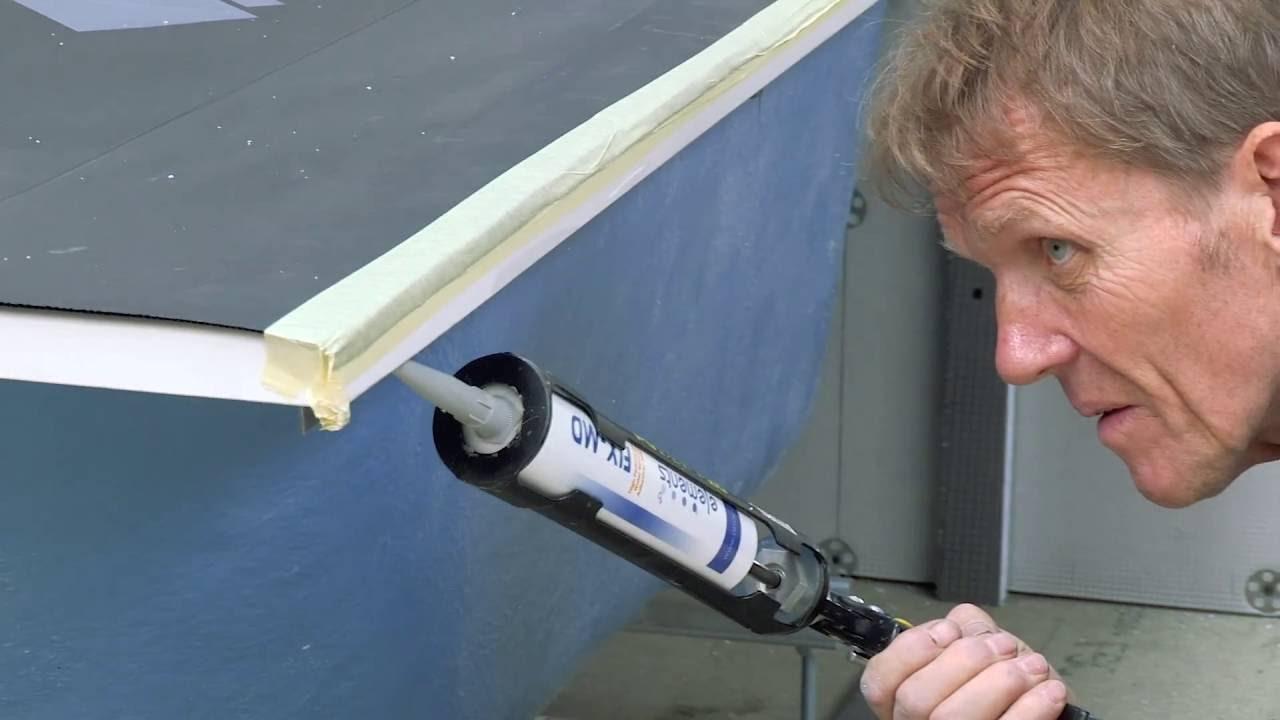 Installing a tileable bath panel - YouTube