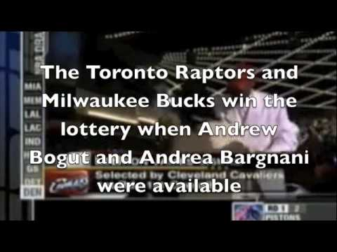 NBA Draft Lottery Conspiracy