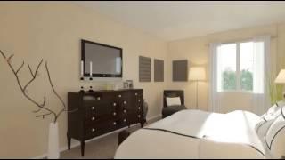 Casa Mira View: The Siena 2 Bedroom Apartment Floorplan