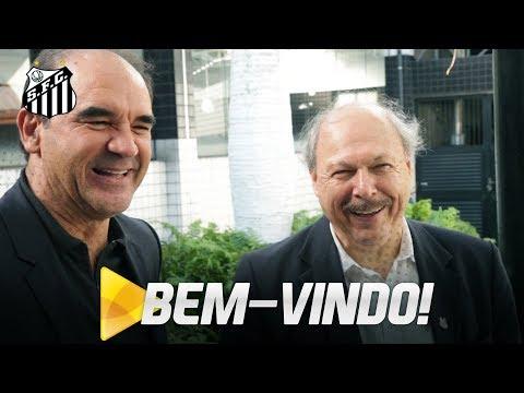 As primeiras impressões de Ricardo Gomes sobre o Santos FC
