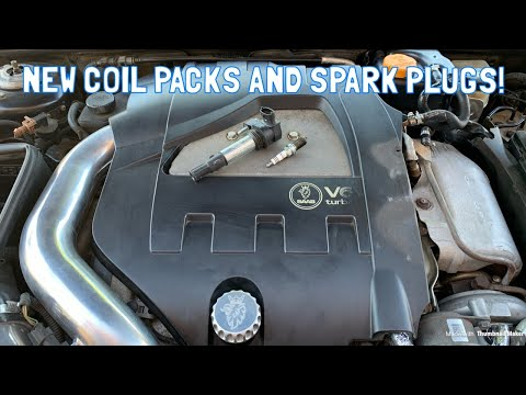 Saab 9-3 Turbo X (V6) Spark Plug and Ignition Coil Replacement