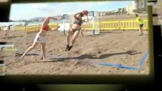 El giro 360º en balonmano playa  | Beach Handball 360º spin (ES + EN subs.)