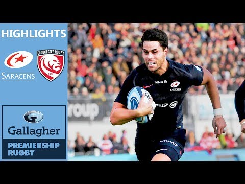 Saracens V Gloucester | Sarries Cruise To Bonus Point | Gallagher Premiership