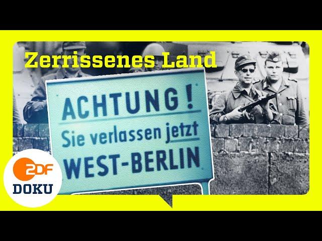 Deutschland geteilt. Wie es zum Bau der Berliner Mauer 1961 kam | ZDFinfo Doku