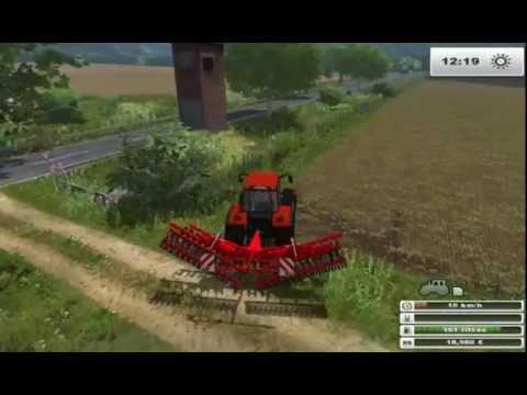 #4 Carrière suivie sur Big Polish Farm!   Travaille de terre avec le Renauld!