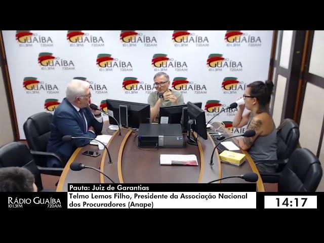 Entrevista Telmo Lemos Filho - Esfera Pública - Rádio Guaíba