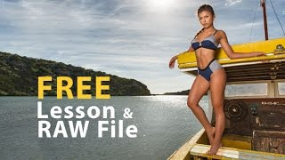 Free Lesson: How to Photograph and Retouch Swimwear Models