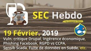SECHebdo - 19 Février 2019 thumbnail