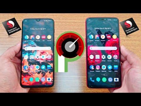 OnePlus 6T Vs OnePlus 6 Speed Test !!!