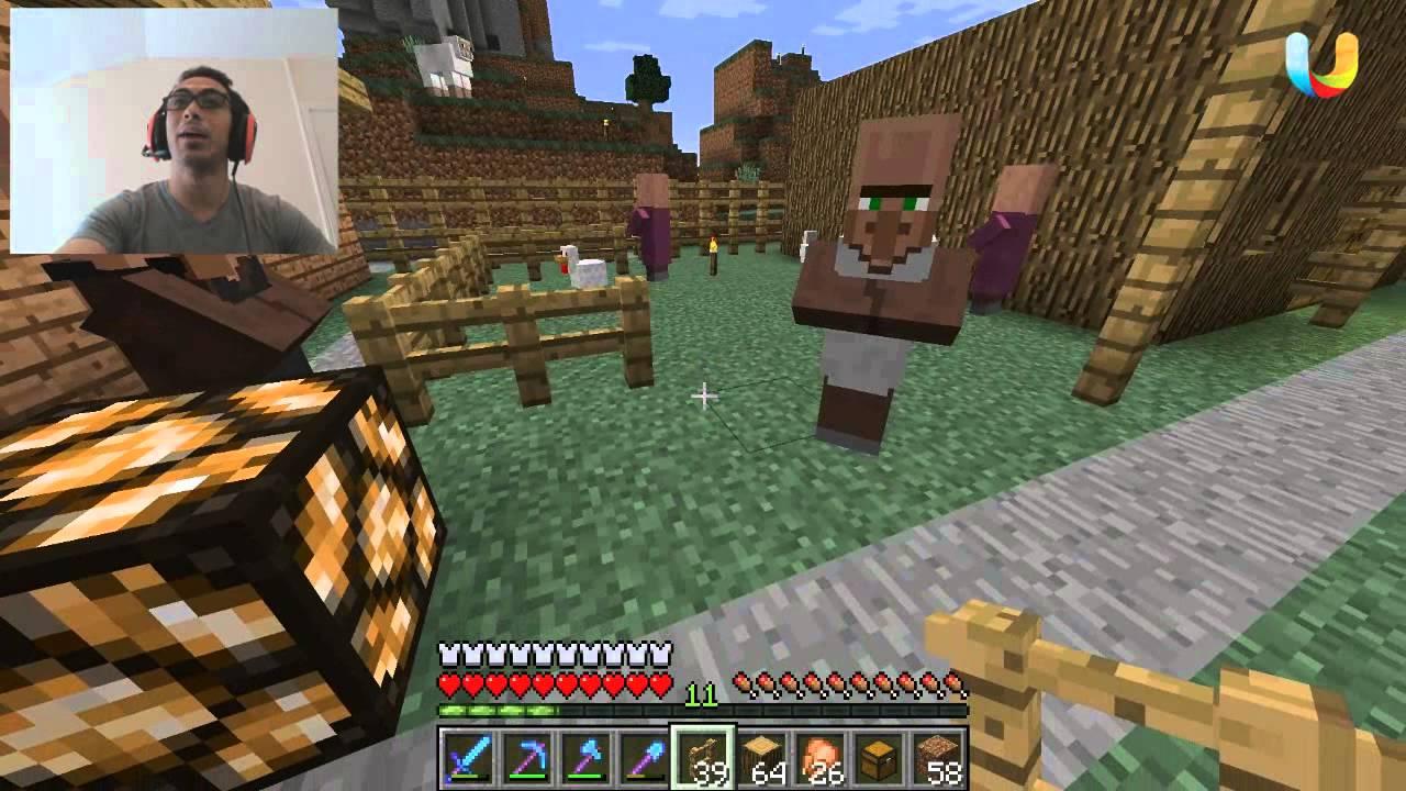 ماين كرافت القروي الدلوع هههه 73 73 Minecraft D7oomy999 Youtube