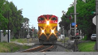 BEST SHOT EVER!! KCS 4147 South Coming At You in Refugio, TX Must Watch