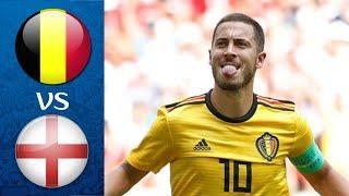 БЕЛЬГИЯ – АНГЛИЯ l ЧЕМПИОНАТ МИРА МАТЧ ЗА 3-Е МЕСТО FIFA-ВАНГА