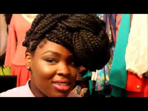 7 Quick Amp Easy Ways To Style Your Braids YouTube