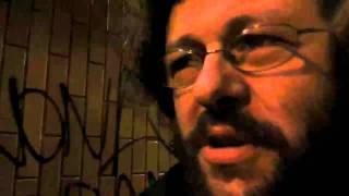 Black Interview with Markus Acher (The Notwist, Milan, 18/01/2012).