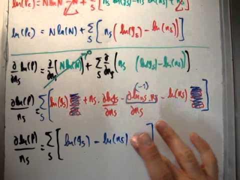 Quantum Statistics 28 : Maxwell Boltzmann Classical Distribution