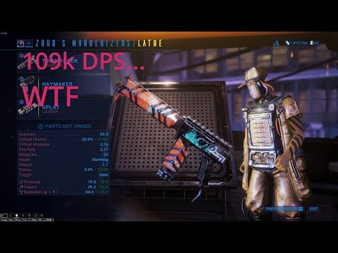 BEST kit gun in Fortuna. 109k dps?... For real, WTF