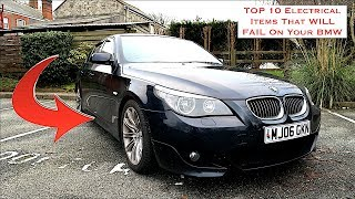 TOP 10 Electrical Items That WILL FAIL On Your BMW E60 & E90....... These Issues Will KILL Your BMW