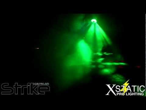 X-676 LED Strike Xstatic Pro Lighting RGB 224LEDs portable DMX beam effect Pro DJ Review