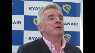 Michael O'Leary on Donald Trump