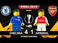 Europa League Final 2019 🏆 Chelsea vs Arsenal 4-1 • All Goals Highlights LEGO Football Film