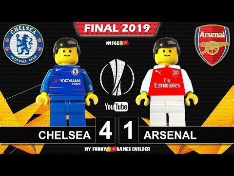 Europa League Final 2019 🏆 Chelsea vs Arsenal 4-1 • All Goals Highlights LEGO Football Film