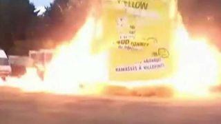 Explosion during a fair in France