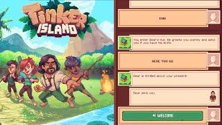 Tinker Island | Bear Knife Unlock Bear Sparky Willy