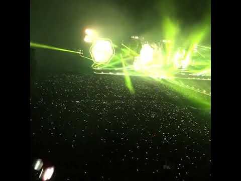 Coldplay Yellow in Bangkok 2017