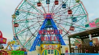 Disney's Inspiration !! The True Wonder Wheel at Coney Island, Brooklyn NY HD