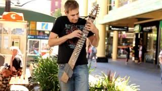 Andy Salvanos LIVE - Original Composition - (Rundle Mall) - Chapstick Guitar
