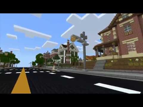 Minecraft PE map - The Neighborhood  MCPE map  Download Mcworld