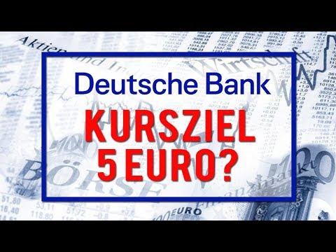 Deutsche Bank - Kursziel 5 Euro?