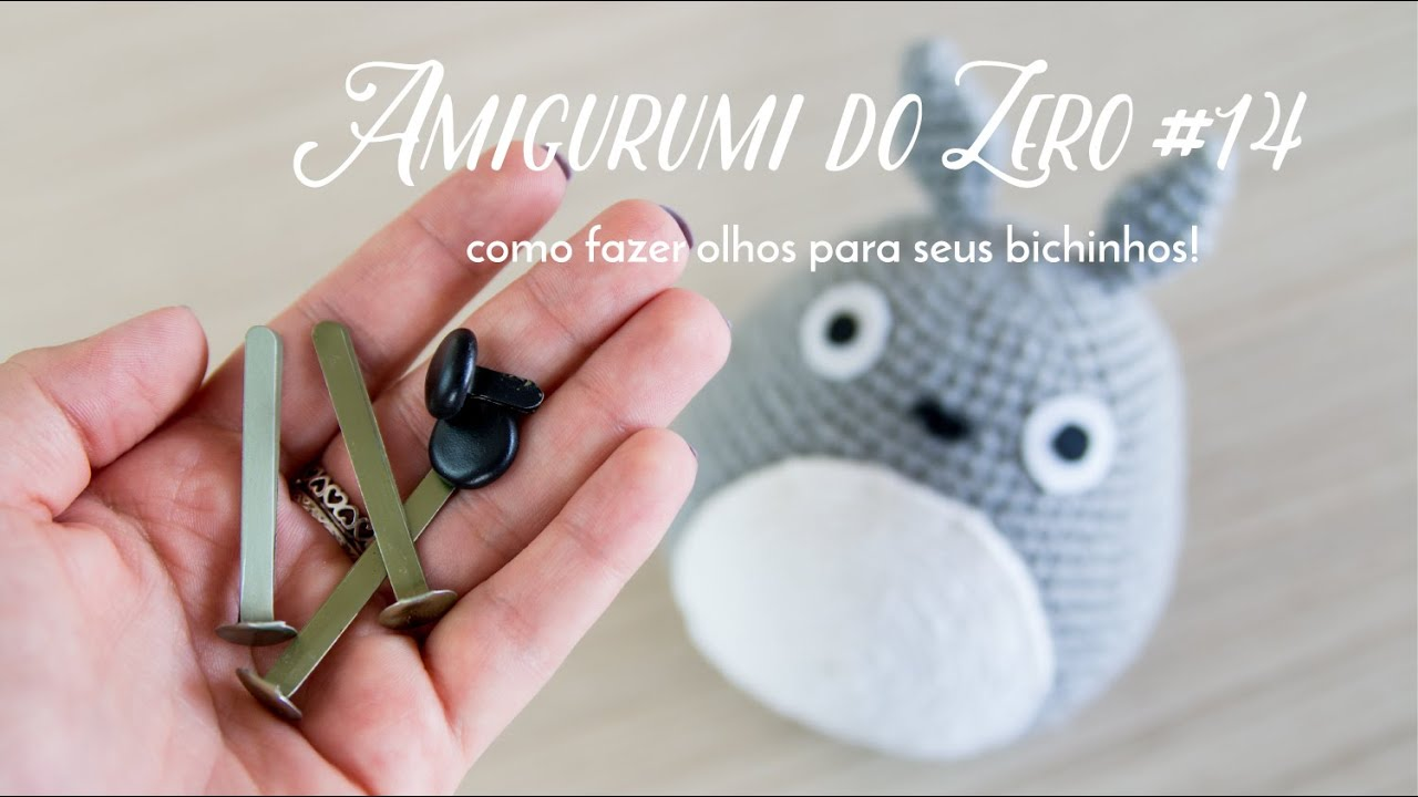 Amigurumi segurança rodada olhos 8 milímetros preto - TricotPlus | 720x1280