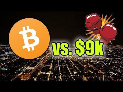 BITCOIN BREAKS $9k! BTC LIVE